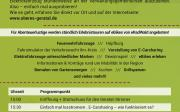 (e)Mobilitätsfest und Start des Geratal-Stromers in Gräfenroda am 23. Juni 2018