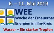 06. - 11.05.2019: Woche der Erneuerbaren Energien im Ilm-Kreis